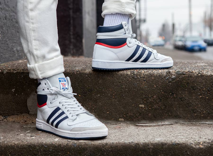 discount for sale Adidas Top Ten High-Top Sneakers buy cheap looking for buy cheap cheap store sale online oUuXpeORA