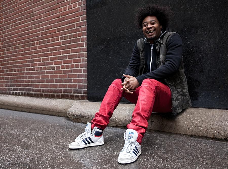 adidas Originals Top Ten Lookbook featuring Danny Brown, Stalley ...