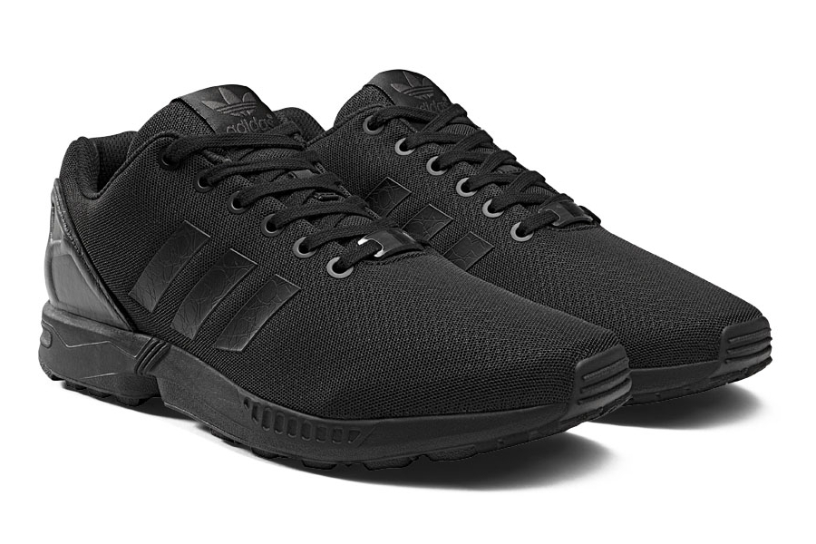 Stay with us after the click to see official images on each and watch for  the adidas ZX Flux Black Elements Pack to release on February 1st 2014