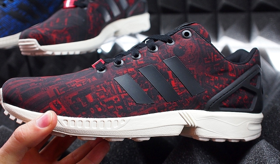 Adidas ZX FLUX Moscow City Pack