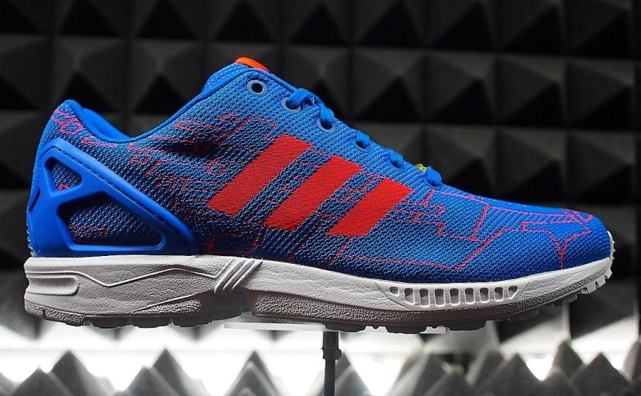 a5da89e6b64 ... usa adidas zx flux in multi color graphic and more sneakernews 6bbce  3820e ...
