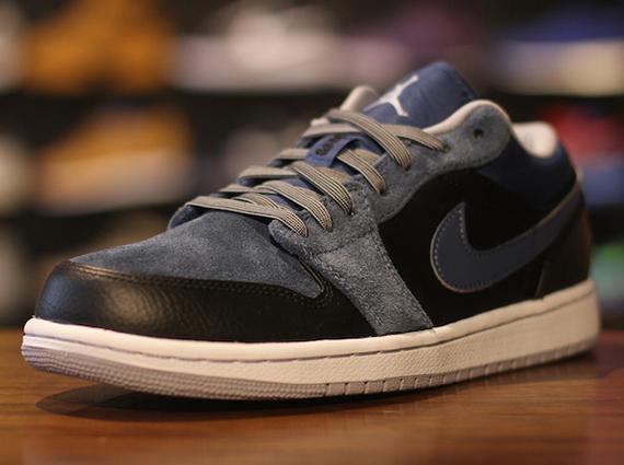 hot sale online 5addd f05ff Air Jordan 1 Low - Black - Wolf Grey - New Slate - SneakerNews.com