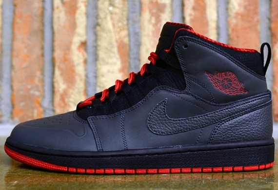 Air Jordan 1 '94 – Anthracite – Gym Red – Black