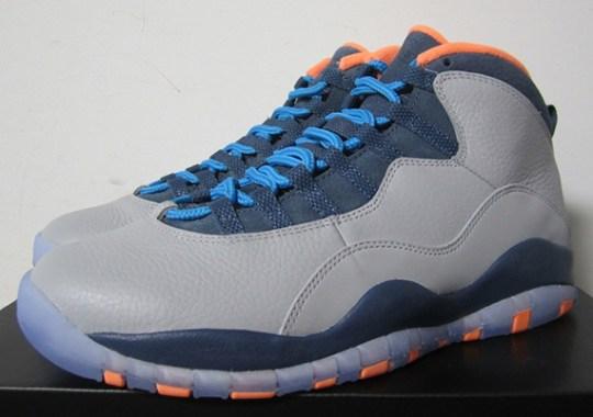 """Air Jordan 10 """"Bobcats"""" – Release Reminder"""