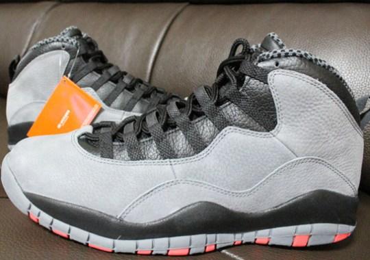 """Air Jordan 10 """"Infrared"""""""