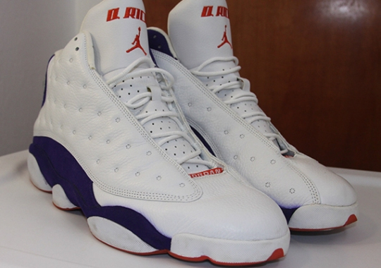 "Air Jordan XIII – Quentin Richardson ""Suns"" Away PE"