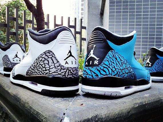 dc789a22a5c Air Jordan III Powder Blue - SneakerNews.com