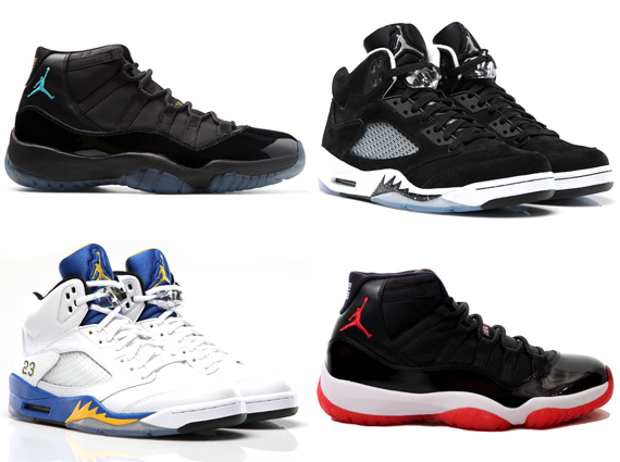 List Of Shoes Made By Jordan
