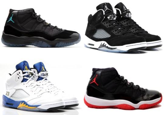 The 20 Best-Selling Air Jordans of 2013