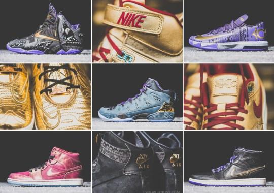 Nike + Jordan Brand BHM 2014 Releases