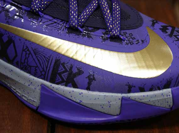 "finest selection 07166 b142b Nike KD 6 ""BHM"" – Purple Venom – Metallic Gold – Purple Dynasty"