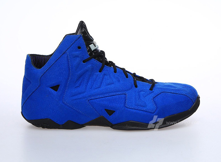 """Blue Suede"" Nike LeBron 11 EXT - SneakerNews.com"