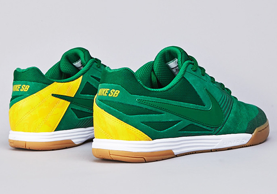 """buy popular 95873 e7190 We ve seen the """"France"""" and """"Holland"""" Nike SB Lunar Gato, and now we have  detailed photos of yet another World Cup colorway of the shoe. This colorway  ..."""