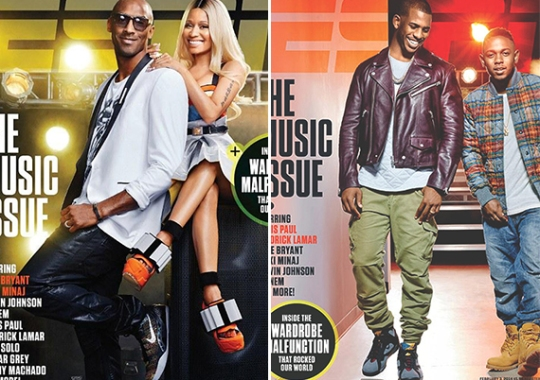 Kobe Bryant and Chris Paul Cover ESPN The Music Issue