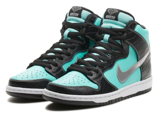 Diamond Supply Co. x  Nike SB Dunk High Premium – Nikestore Release Info