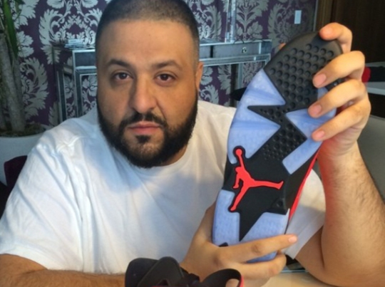 "DJ Khaled Shows Off Air Jordan 6 ""Infrared 23"""