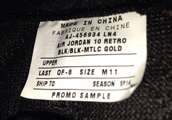 Air Jordan 10 Retro Drake Ovo Annunci Ebay dr9uGqyY