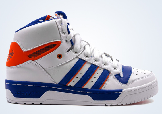 b473e185ba9d The adidas Originals Attitude Hi will be making its return tomorrow in this  Patrick Ewing style Knicks colorway. This particular silhouette is  interesting ...