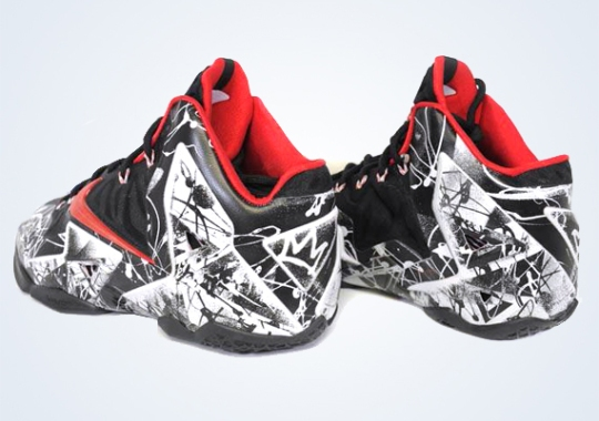 "The LeBron 11 ""Graffiti"" is the First LeBron Release of 2014"