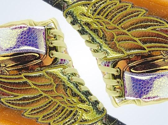 "Jeremy Scott x adidas Originals JS Wings ""Iridescent Gold Foil"""
