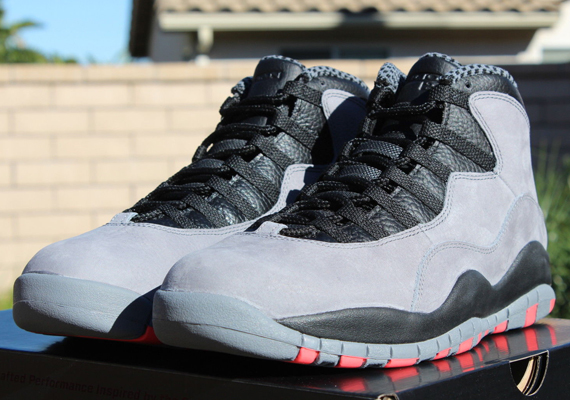 "Air Jordan 10 ""Cool Grey"" – Release Reminder"