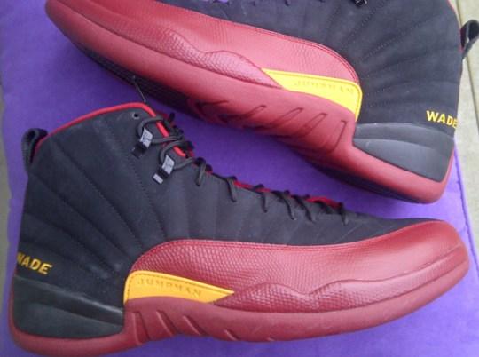 """Air Jordan 12 – Dwyane Wade """"Heat"""" PE"""