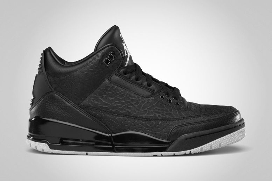 save off d2628 c3b80 A new color combo, of grey, black, and red hit the Air Jordan 3 in  September of 2011.