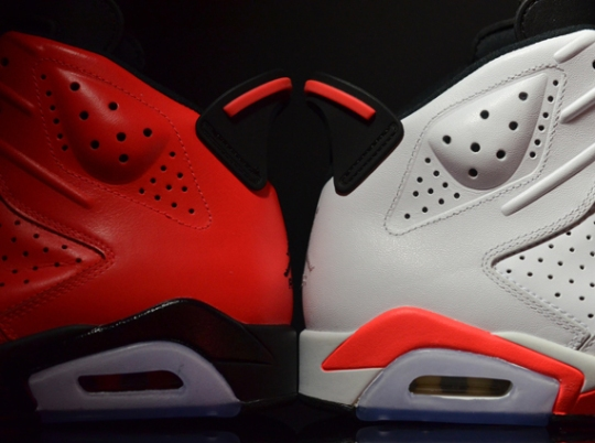 "Two ""Infrared"" Air Jordan 6 Retro Releases for February"