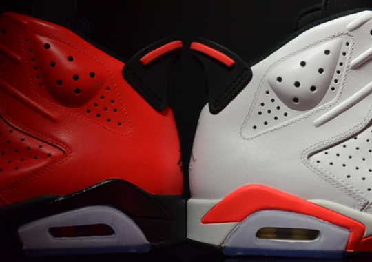 """Two """"Infrared"""" Air Jordan 6 Retro Releases for February"""