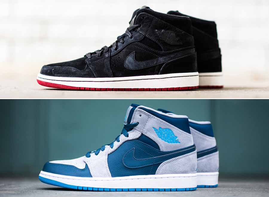 air jordan 1 high vs mid