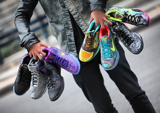 Vote For Your Favorite Nike Kobe Prelude Release