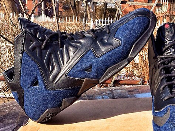 Nike LeBron 11 EXT quot Denimquot