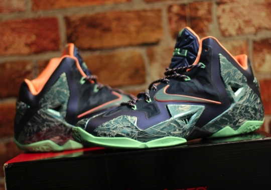 "Nike LeBron 11 ""Laser"" Customs by Absolelute for Soley Ghost"