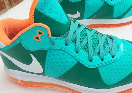 "Nike LeBron 8 Low ""Dolphins"" Sample"