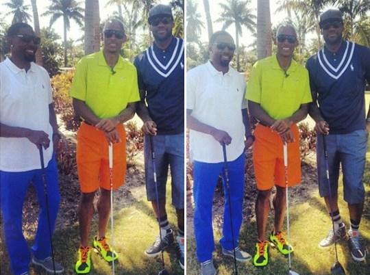 LeBron James Goes Golfing in Nike LeBron 11 NSW Lifestyle