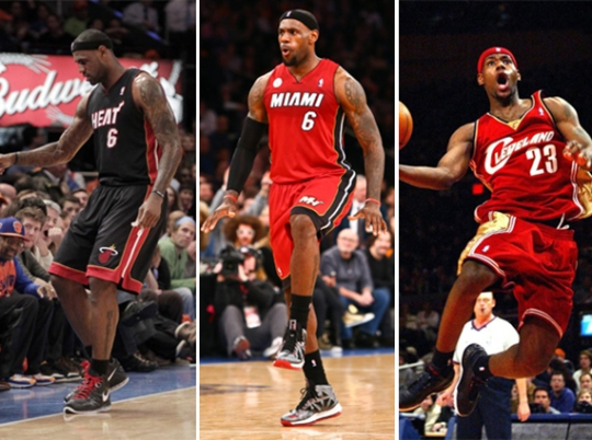 Complex's Complete History of LeBron James' Sneakers at Madison Square Garden