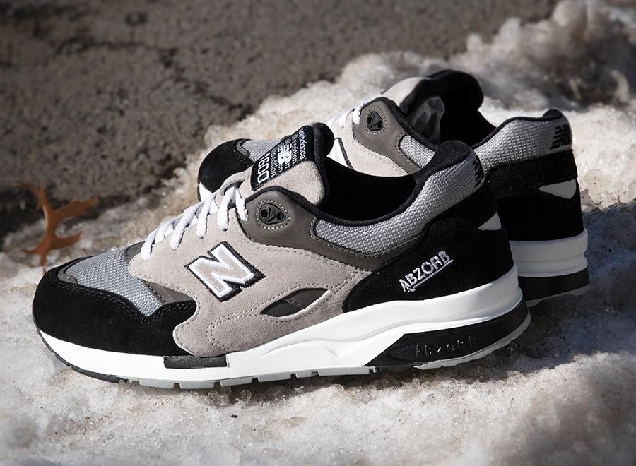 New Balance 1600 Black Grey White