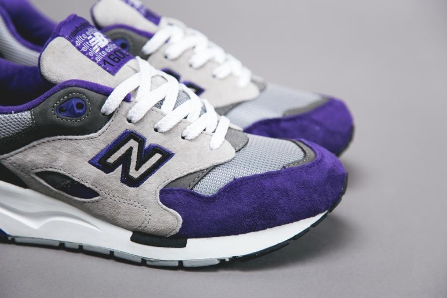 New Balance 1600 Elite Edition - Grey - Purple - Black ...