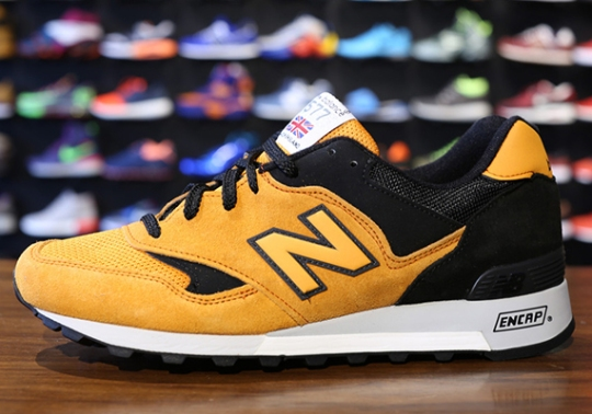 """New Balance 577 """"Made in England"""" – Orange + Red 