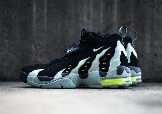 Nike Air DT Max '96 – Black – Mica Green – Volt | Available