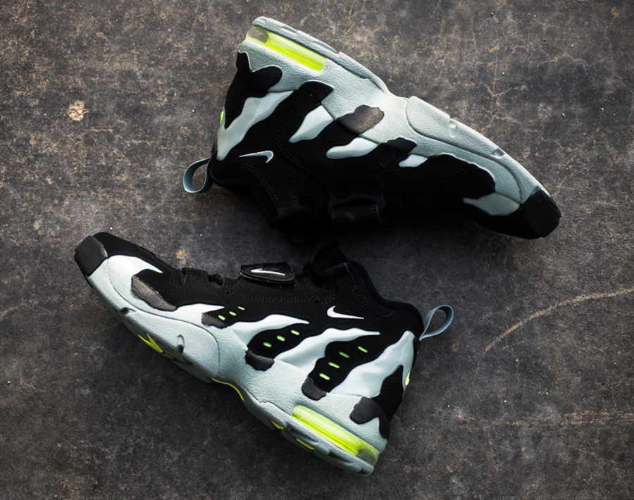 81f71f1f68c5 Nike Air DT Max  96. Color  Black Mica Green-Volt Style Code  316408-004.  Release Date  01 09 14. Price   160