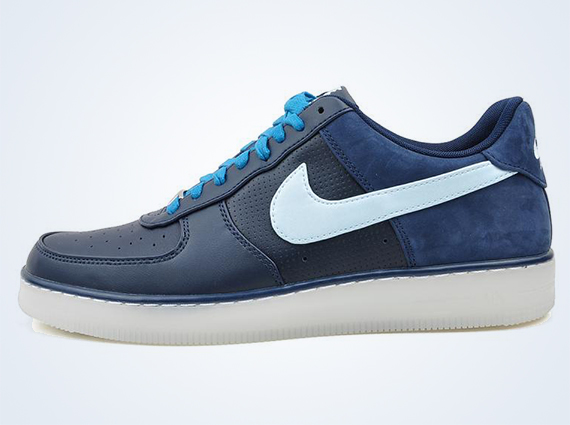 new arrival 5e2eb 10af7 Nike Air Force 1 Downtown – Obsidian – Barely Blue – Green Abyss