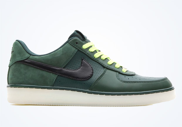 the latest 35a8d 9c4c0 Nike Air Force 1 Downtown – Pro Green – Black – White – Volt