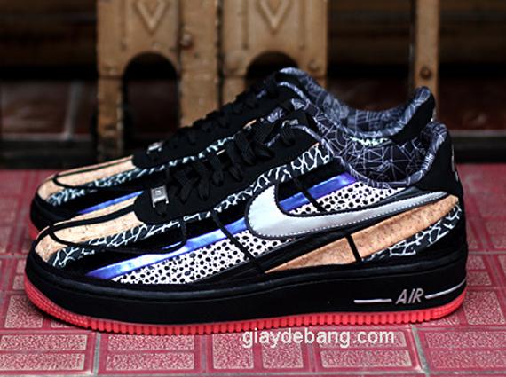 Nike Air Force 1 Mediados De Fuerza De Ultra - Negro / Gumbo nXfaa4HJ