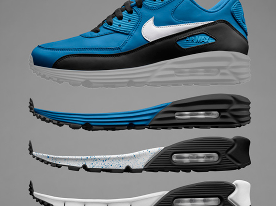 grand choix de 2f6a4 e3613 Nike Air Max 90 Lunar + Free Options on NIKEiD - SneakerNews.com