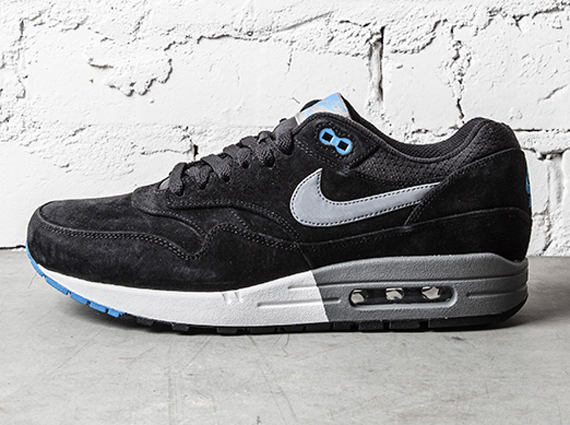 60e93c25c3 Nike Air Max 1 Premium - Black - Blue - Grey - SneakerNews.com