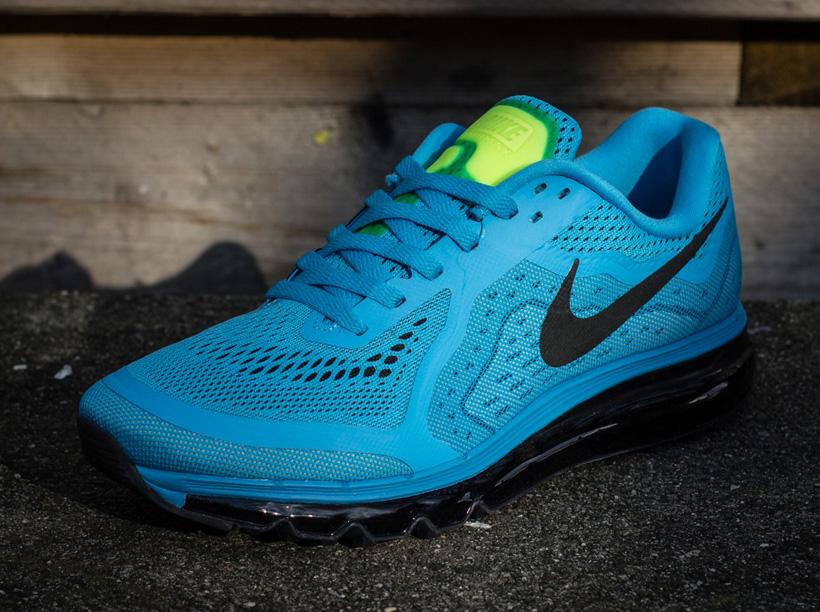 new product a777c 37a0b Nike Air Max 2014 - Vivid Blue - Black - Glacier Ice - SneakerNews.com