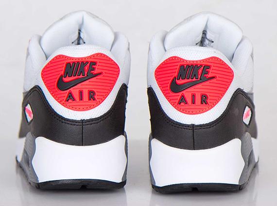 Nike Air Max 90 2014 White Black Red
