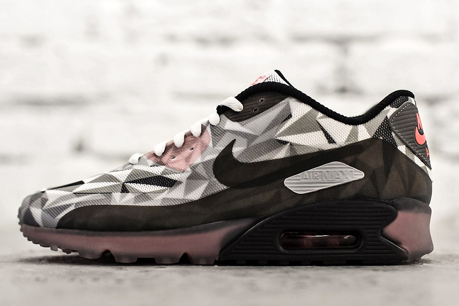 Nike Air Max 90 ICE - White - Cool Grey - Black - Infrared