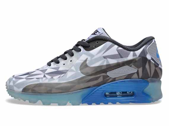 Nike Air Max 90 Hielo Lobo Gris De Color Blanco Y Antracita edzGgJ